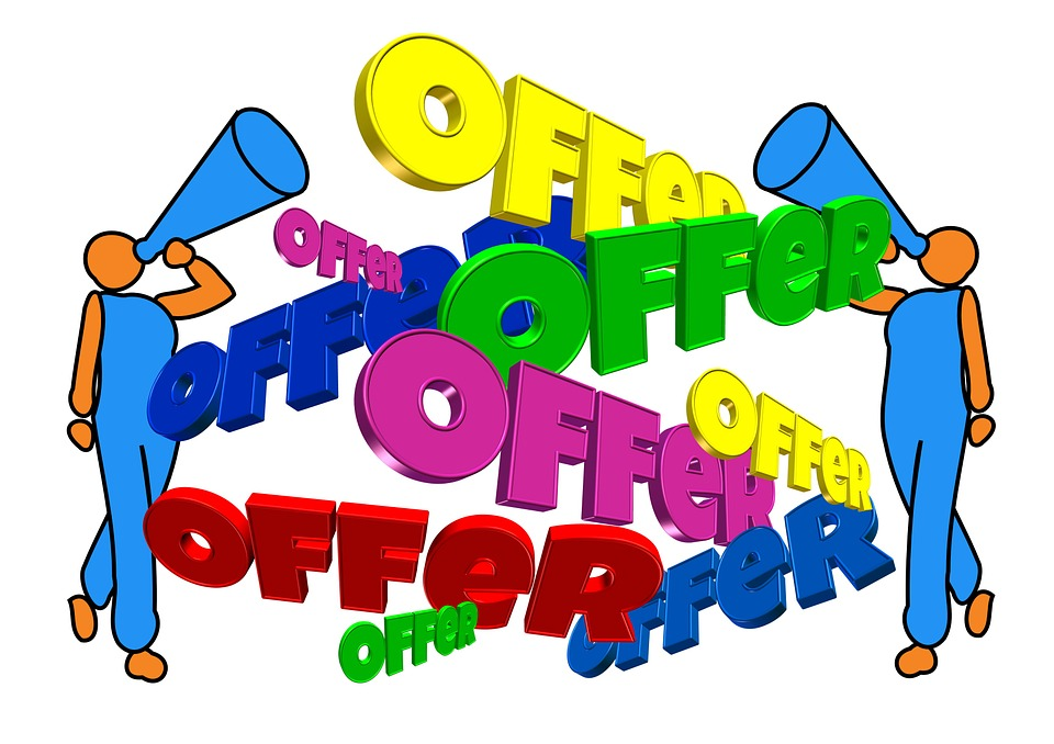 attractive offers through creative ad campaign