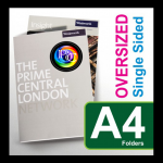 Same day business a4 presentation folder printing London PRINT IN LONDON
